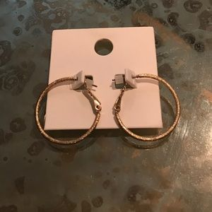 Express | Small Gold Hoop Earrings